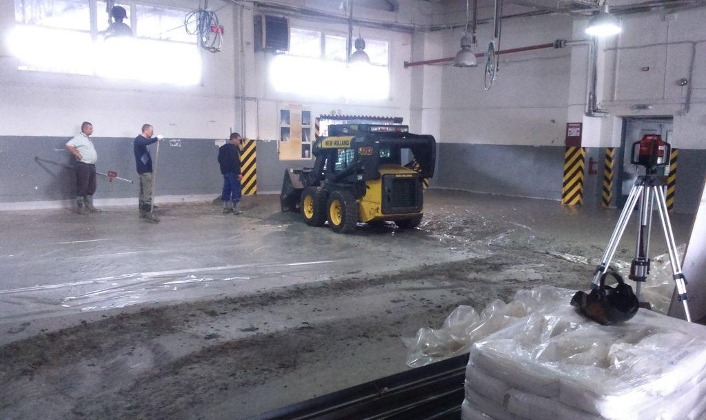 Промышленные бетонные полы топпинги Харьков